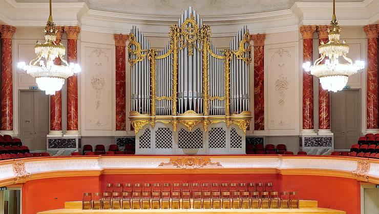 Die neue Orgel im Stadtcasino Basel wird gleich aussehen wie die alte. Gebaut wird sie von der Dietiker Firma Metzler.