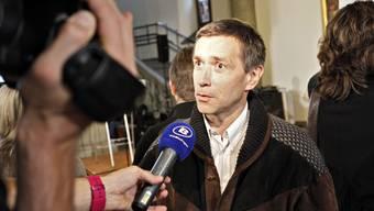 Josef Rothenfluh, unabhängiger Berner Regierungskandidat