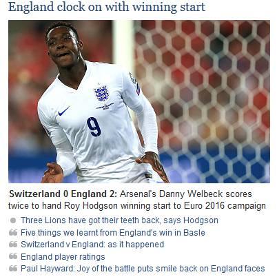 «Die neue englische Zeitrechnung beginnt mit einem Sieg»