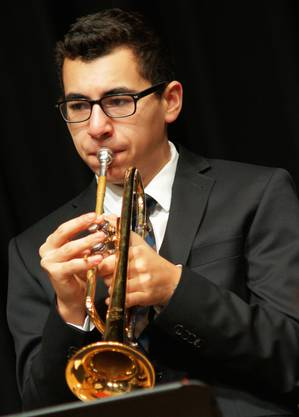 Trompeter Rico Felber aus Dietikon