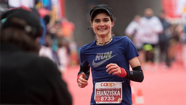 Franziska Inauen aus Windisch ist die schnellste Marathonläuferin aus dem Aargau.