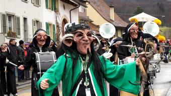 2015 lärmten die Ermitage Schränzer noch an der Fasnacht in Dornach. Inzwischen gibt es sie nicht mehr.