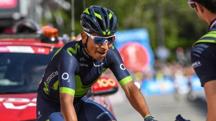 Nairo Quintana ist der beste Bergfahrer, kann aber nicht Zeitfahren.