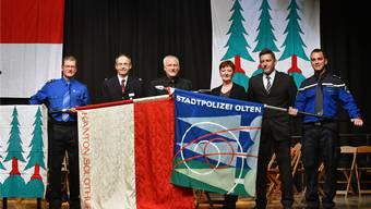 «Feierlichkeiten» zur Integration der Stadtpolizei Olten in die Kantonspolizei