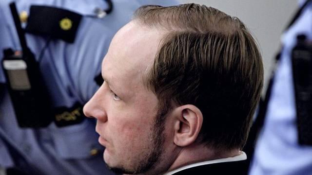 """Breivik wird in einem Bericht als """"aufmerksam und konzentriert"""" in der Haft beschrieben (Archiv)"""