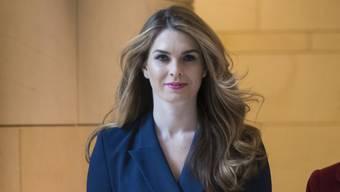 Ohne Nennung von Gründen: Hope Hicks, die Kommunikationsdirektorin des Weissen Hauses, tritt zurück.