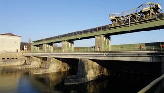 Ryburg-Schwörstadt, das grösste Wasserkraftwerk am Hochrhein.