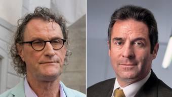 Zeigen sich beide zufrieden mit dem Urteil: Geri Müller (links) und Sacha Wigdorovits.