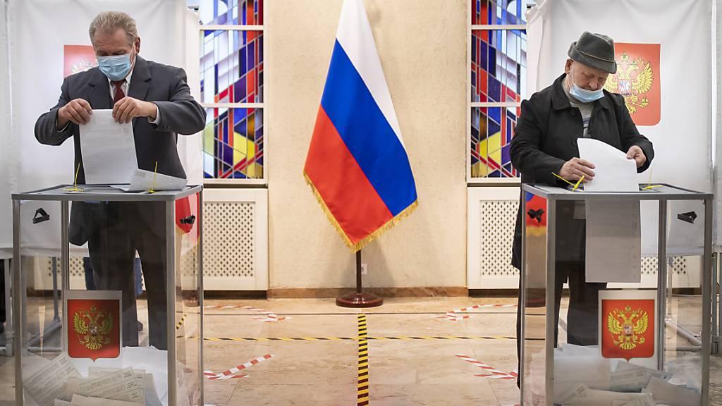 Russland-Wahl: Kremlpartei feiert Sieg - Viele Verstösse