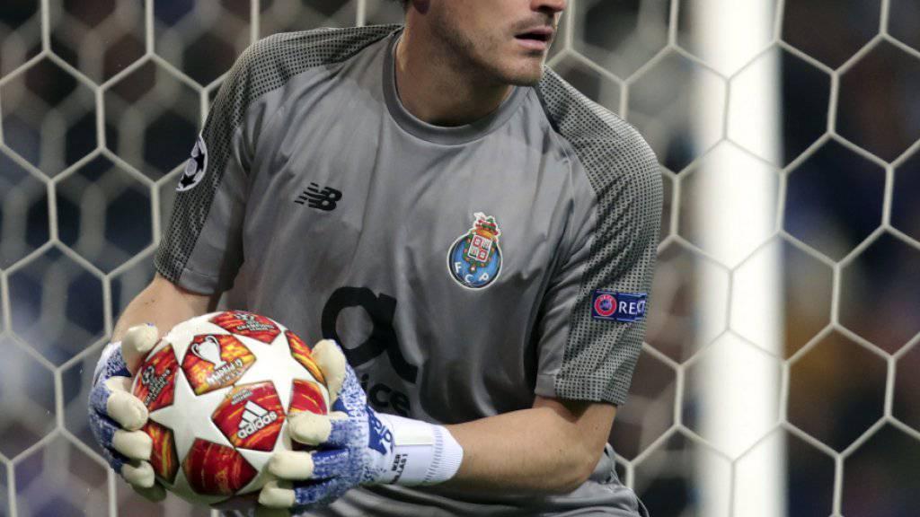 Iker Casillas erholt sich in einem Spital in Porto