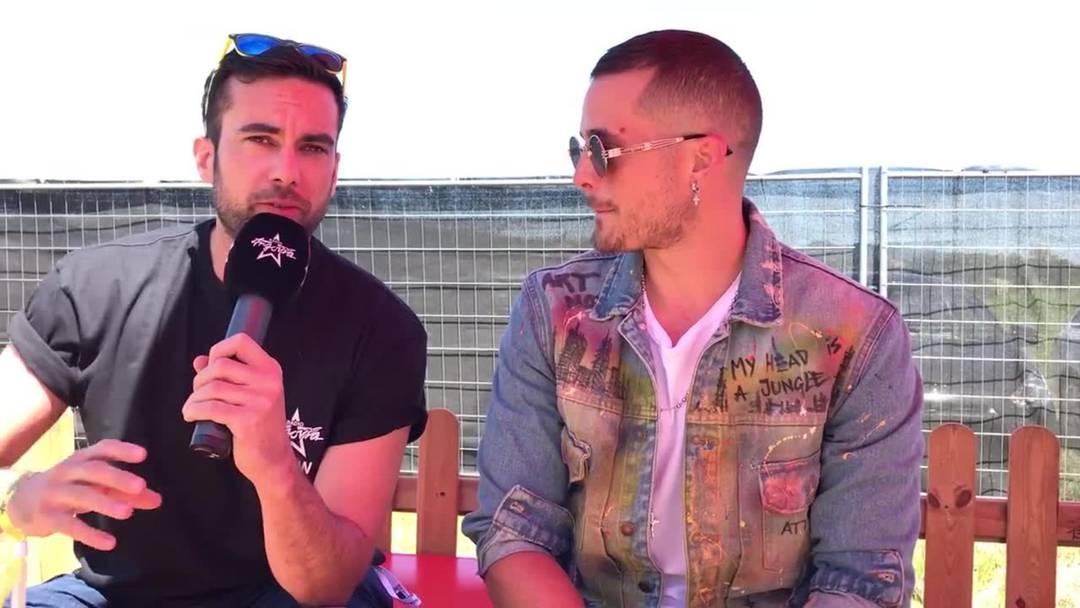 Loco Escrito im Interview vor seinem Auftritt am Argovia Fäscht 2019