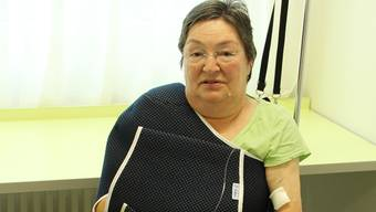 Yvonne Balmer ist derzeit an den Rollstuhl oder das Bett gebunden. seb