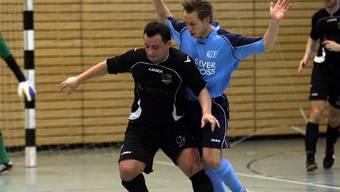 Benard Duzhmani ist der Mann für alles beim Futsal-Klub Oftringen.Geisser