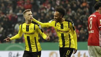 Dortmund besiegt Bayern im Cup-Halbfinal 3:2 (26.04.2017)