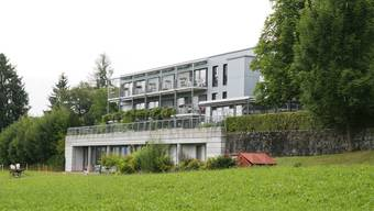 Idyllische Lage: Das Altersheim Falkenstein in Menziken.