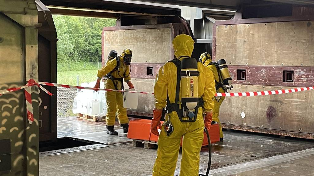 Nach Chemieunfall: Drei Personen im Spital