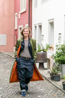 """Seit sieben Jahren lebt Katrin Legandt in der Brugger Altstadt. """"«Das Universum hat mich hierher geschickt», sagt sie."""