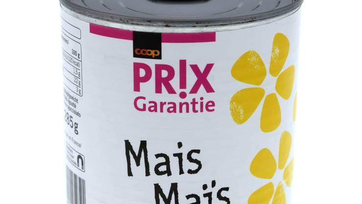 Coop ruft den Prix Garantie Mais in der 285-Gramm-Dose zurück.