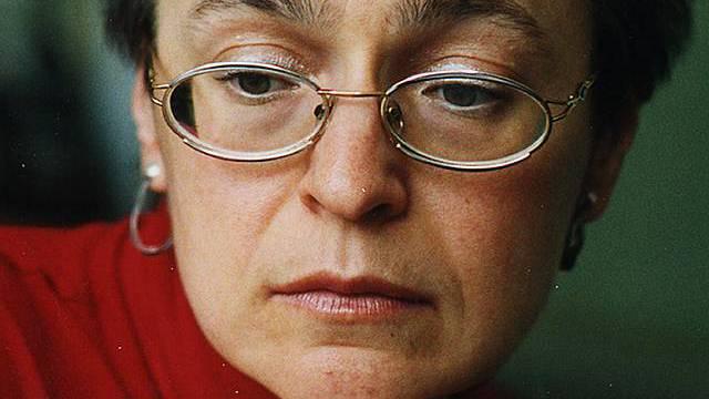 Journalistin Politkowskaja (Archiv)