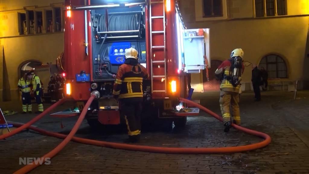 55-Jähriger stirbt bei Brand in Mehrfamilienhaus