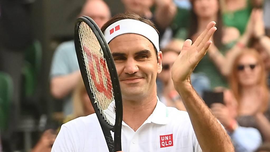 Rückkehr zur alten Form auf «seinem» Centre Court: Roger Federer wusste sich in der 2. Runde deutlich zu steigern.