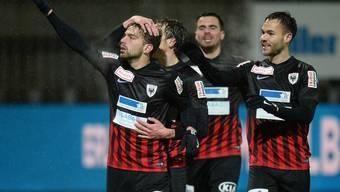 FC Wil - FC Aarau (23. Runde, Challenge League, 2016/17)