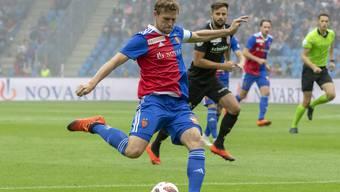 Captain Fabian Frei gleicht gegen Thun kurz vor der Pause aus. Mehr schafft der FCB derzeit nicht.