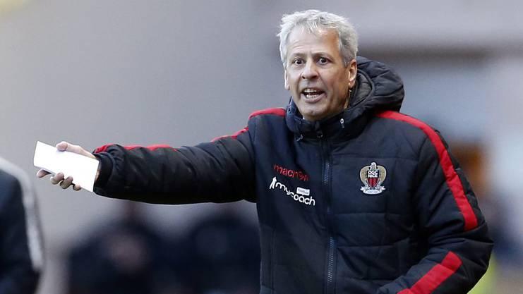 Lucien Favre wurde im Sommer als Trainer in Nizza vorgestellt.