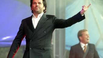 """Anders und Bohlen beim """"Modern Talking""""-Abschiedskonzert 2003"""