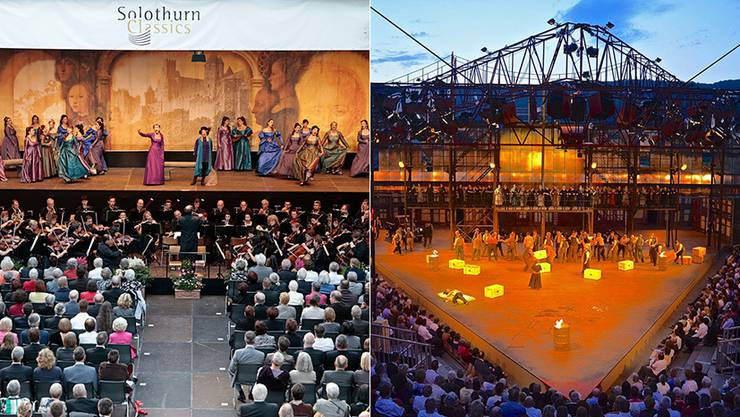 Die Solothurn Classics und die Oper Schenkenberg haben erst 2015 fusioniert.