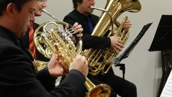 Das Penta-Brass-Quintett Luzern (Bild) und der Bifang-Chor stimmten die Bewohner des Wohn- und Pflegezentrums Bifang in Wohlen auf Weihnachten ein