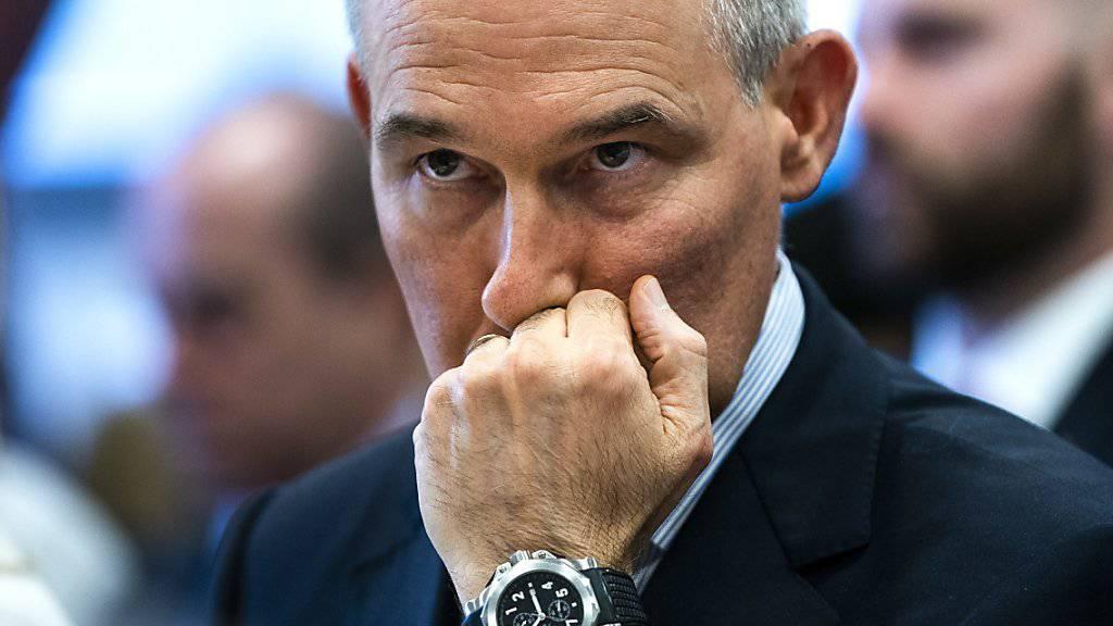 Nimmt nach mehreren Skandalen den Hut: der Chef der US-Umweltbehörde EPA, Scott Pruitt. (Archivbild)