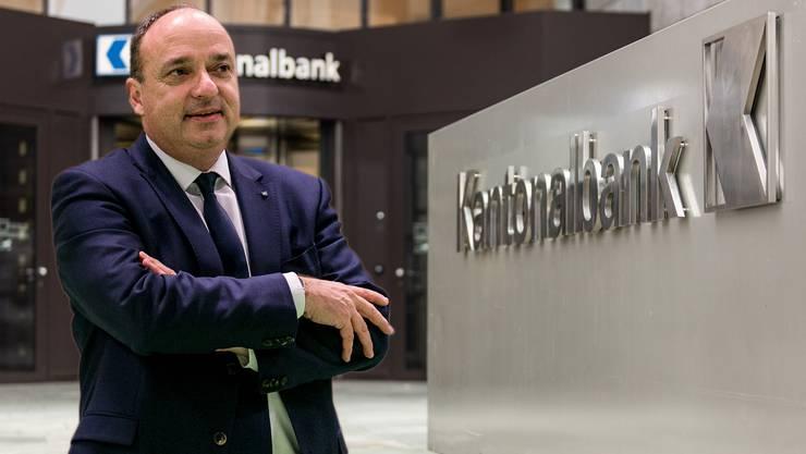 Markus Dieth: «Ohne Staatsgarantie erhält der Kanton als AKB-Eigentümer für das Risiko keine Entschädigung mehr»