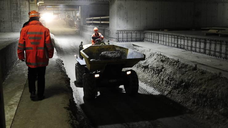 Im Jahr 2015 soll die Durchmesserlinie von Zürich Altstetten nach Zürich Oerlikon fertig gestellt sein.