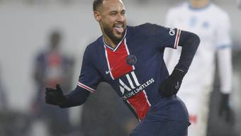 Er hat gut lachen: Neymar trifft zum 2:0 und ebnet seiner Mannschaft den Weg zum Titel.