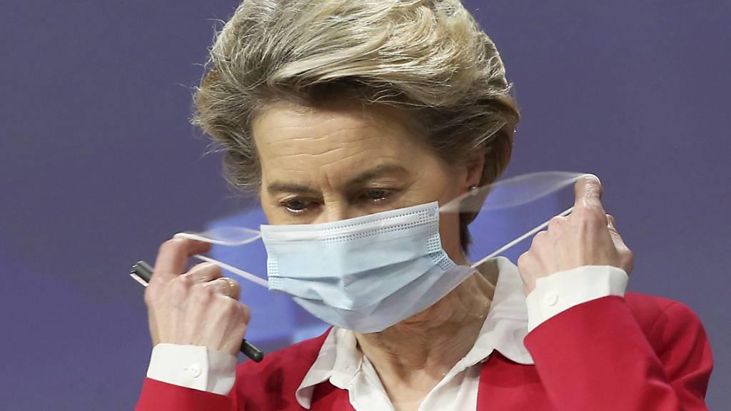 EU-Vertrag über mehr Biontech/Pfizer-Impfstoff steht