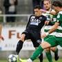 Kevin Spadanuda (M.) machte gegen den SC Kriens (3:2) sein bisher bestes Spiel für den FC Aarau.