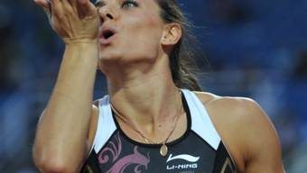 Jelena Isinbajewa greift wieder ins Wettkampfgeschehen ein