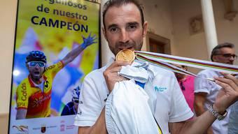 Wird 2019 das Regenbogen-Trikot des Strassen-Weltmeisters tragen: Alejandro Valverde