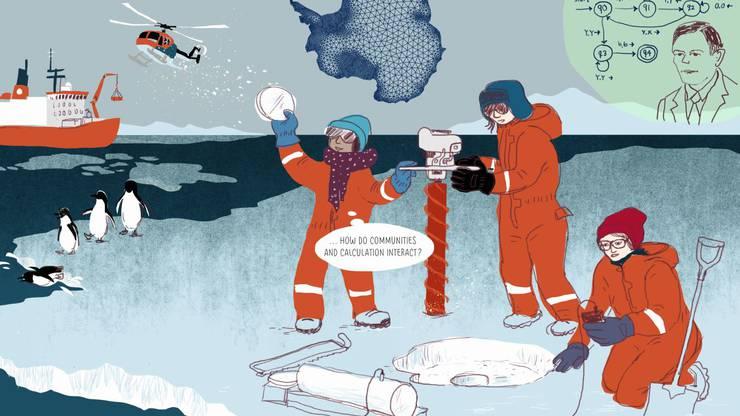 Ihre Fragen führen Kiya bis zum Nordpol. (zvg / Humboldt Books)
