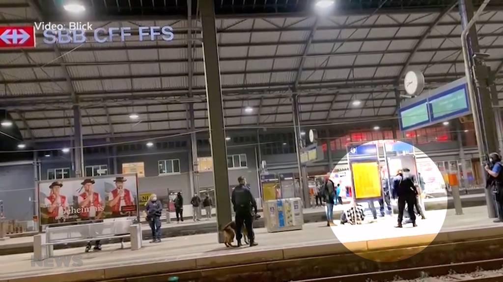 25-Jähriger wird beim Bahnhof Olten angeschossen: Vier Männer werden vorläufig verhaftet