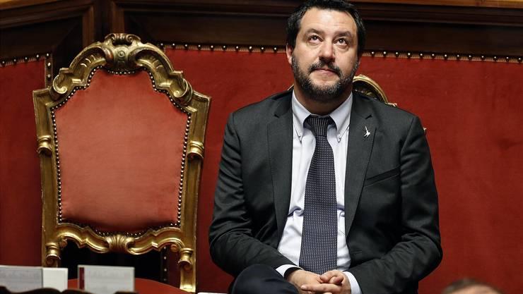 Innenminister M. Salvini. Key