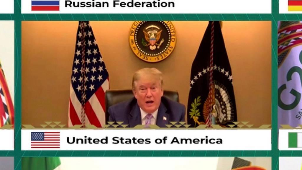 Trump bei G20: Pariser Klimaschutzabkommen «sehr unfair»