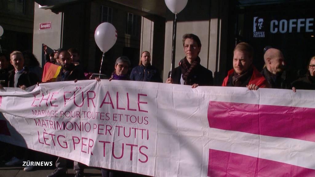 """Hohe Zustimmung der Zürcher Nationalratskandidaten für """"Ehe für alle"""""""
