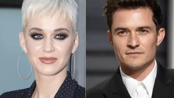 Katy Perry und Orlando Bloom führten seit Anfang 2016 eine On/Off-Beziehung. Seit März 2017 war wieder mal Off, nun melden US-Medien einen Neubeginn. (Archivbilder)