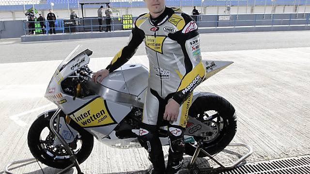 Tom Lüthi mit guter Ausgangslage fürs erste Saisonrennen