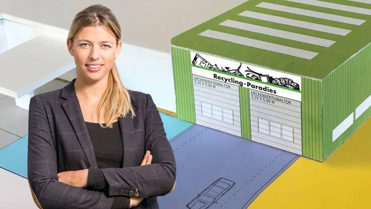 Karin Bertschi ist ab Frühling Chefin von etwa 20 Angestellten.