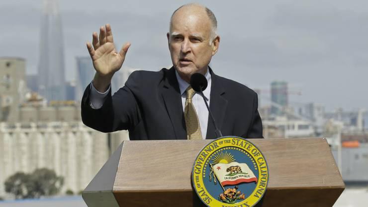 Heisst auch Einwanderer ohne Papiere willkommen: Kaliforniens Gouverneur Jerry Brown. (Archivbild)