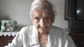 Maria Gomes Valentim kann bald ihren 115. Geburtstag feiern