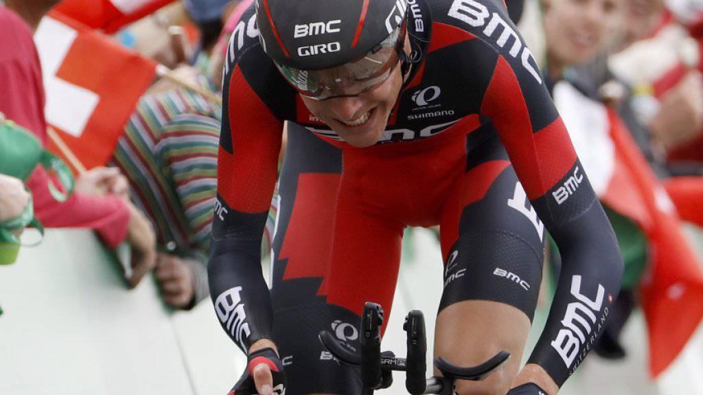 Für mehrere Wochen ausser Gefecht: der Schweizer Radprofi Michael Schär